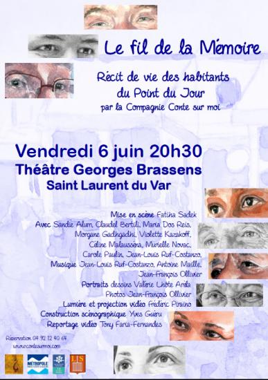 Affiche fil de la memoire 6 juin 2014