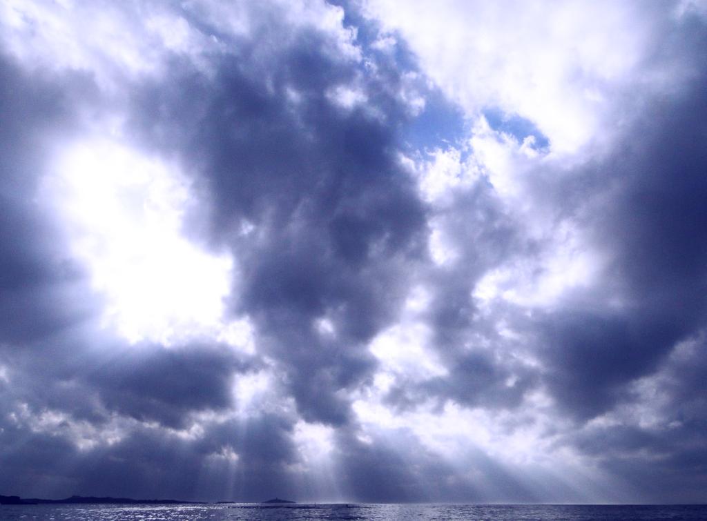 Ciel soleil nuages