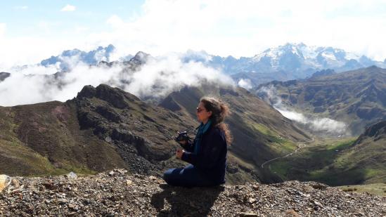Val Peru glacier
